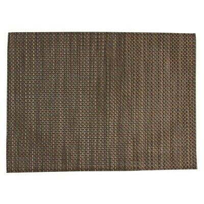 APS PVC placemat Beige And Brown (Pack of 6) (Next working day UK Delivery)