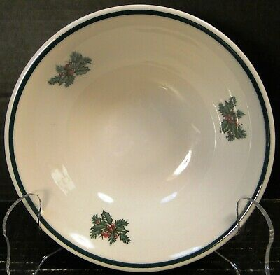 """Johnson Brothers Victorian Christmas Cereal Bowl 6"""" England New W/ Original Tag"""