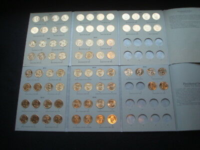 2007-2016 P&d Presidential Golden Dollars Complete 78 Coin Set Unc/bu From Mint