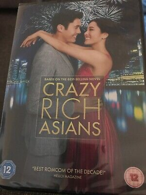 Crazy Rich Asians [DVD, 2019] - Henry Golding - VGC