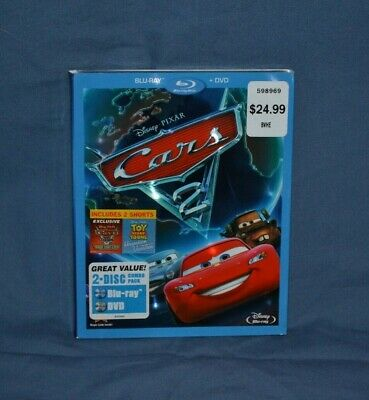 NEW Cars 2 (Blu-ray/DVD, 2011, 2-Disc Set) FREE SHIPPING