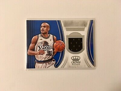 2018-19 Panini Crown Royale Grant Hill Pistons PATCH