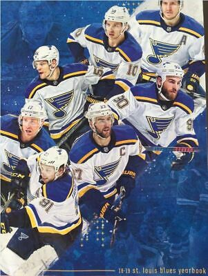 2018 2019 St Louis Blues Yearbook Official Nhl Parayko Stanley Cup Champs