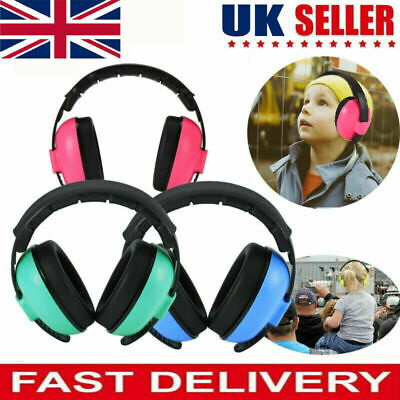 BABY Childs Ear Defenders Earmuffs Protection 3months+ Boys Girls 3 COLOURS UK