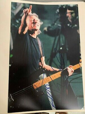 Roger Waters - Foto Autografata  - Photo Signed- Format 20X30