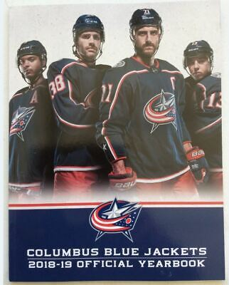 2018 2019 Columbus Blue Jackets Yearbook Official Nhl Foligno Stanley Cup Champ