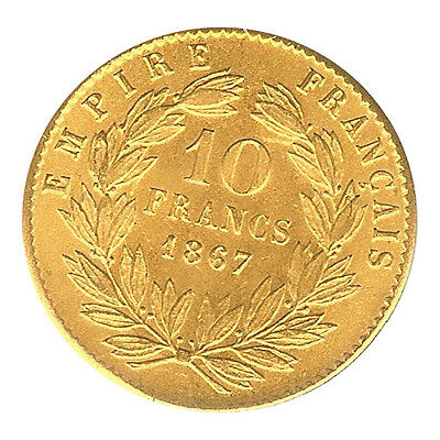 France Game Token - Napoleon III - 10 Franc 1867 CH. AU - Not Gold