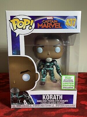 Funko Pop! Captain Marvel KORATH 437 ECCC 2019 Shared Exclusive Limited Edition