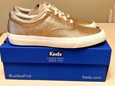 c768153db74be Keds Anchor Matte Rose Gold Metallic Sneakers Shoes Women s Size 7 New In  Box
