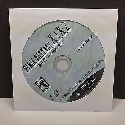 Final Fantasy X/X-2 HD Remaster (Sony PlayStation 3, 2014) DISC ONLY #8222