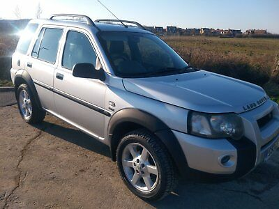 Landrover Freelander TD4 HSE with low mileage.