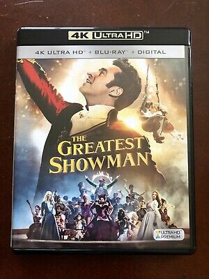 The Greatest Showman Bluray + DVD