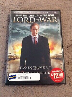 Lord of War (DVD, 2006, 2-Disc Set, Special Edition) Blockbuster DVD
