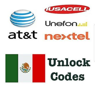 MEXICO AT&T Generic - Iusacell Unefone Nextel Factory Unlock Service