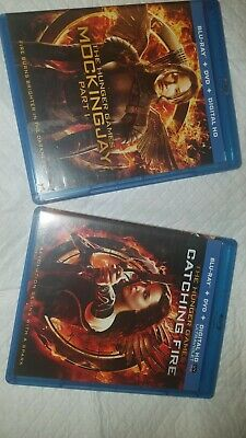 The Hunger Games  movies blue ray + Dvd