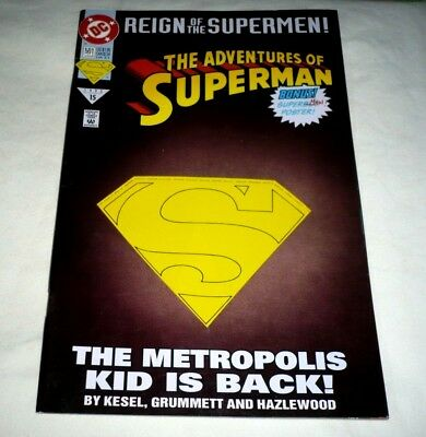DC The Adventures Of Superman # 501 1993 Reign of the Supermen!