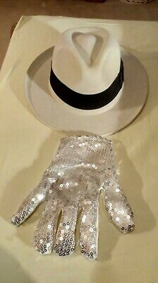 Michael Jackson Smooth Criminal Hat and Billy Jean Gloves - Great Quality Gift