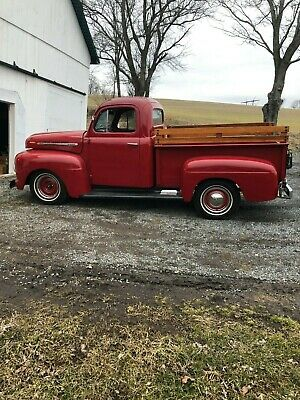 1951 Ford Other Pickups red 1951 Ford F1