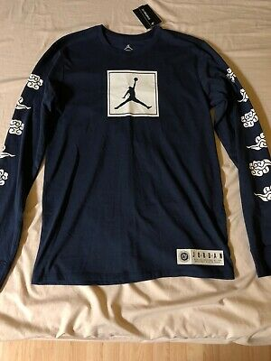 602dae99d20 New Air Jordan 12 International Flight Long Sleeve Shirt Brand New With Tags
