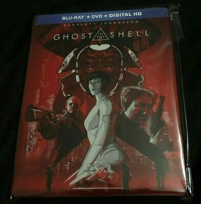 Ghost In The Shell (Live Action) Bluray Steelbook Best Buy Exclusive