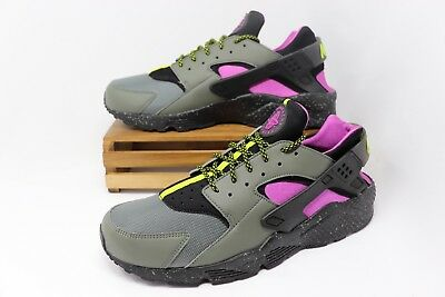 low priced 540b9 5f12e Nike Air Huarache Run Running Shoes River Rock AH9710-002 Men s Size 8.5  NWOB