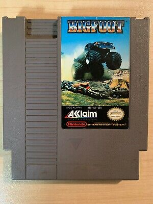Bigfoot (Nintendo Entertainment System, 1990) NES CLEANED & TESTED