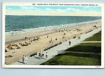 BOARDWALK BEACH EDGEWATER Hotel 1936 Virginia Beach Virginia Kaufman