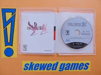 Final Fantasy XIII 2 - 13 - cib - PS3 PlayStation 3 Sony