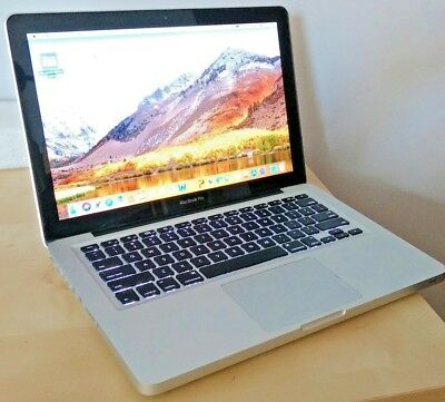 """Apple Macbook Pro 8,1 refurbished excellent, i5 CPU 500GB HDD, Office 13"""" laptop"""