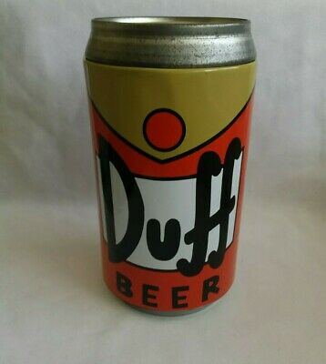 The Simpsons Duff Beer Large Money Tin Box 2009