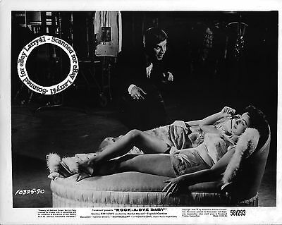 Lot of 3a, JERRY LEWIS, Marilyn Maxwell, Connie Stevens stills ROCK-A-BYE BABY