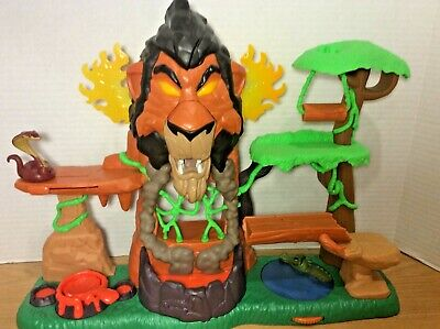 Disney Junior The Lion Guard RISE OF SCAR Play Set Just Play Lion King Toy Works