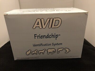 Avid Microchip 9-Digit Friendship Identification System Pet-Trac Lifetime