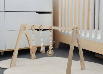 Wooden Activity Gym Play Bar