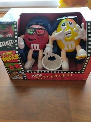 M&M's Collectibles - At The movies - 3D Dispenser