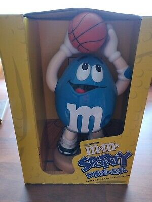 M&M's Collectibles - Basketball Dispenser - Sporty Dispenser - New In Box