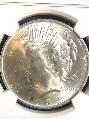 NGC 1923-P Peace Silver Dollar MS 64 UNC BU Brilliant Uncirculated Super P Mint