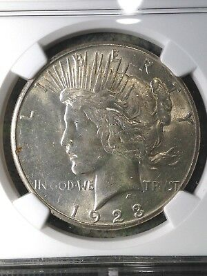 1923-S Peace Silver Dollar MS 61 UNC BU Brilliant Uncirculated Nice Coin