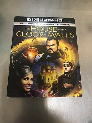 The House with a Clock in Its Walls (2018) 4K Ultra HD + Blu-Ray Disc + Digital