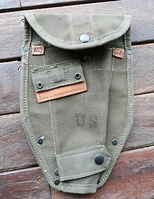 Original vintage US Army, entrenching tool cover Military, Cadets