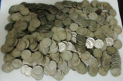 Lot Of 500 Indian Head Buffalo Nickels -All Readable Dates