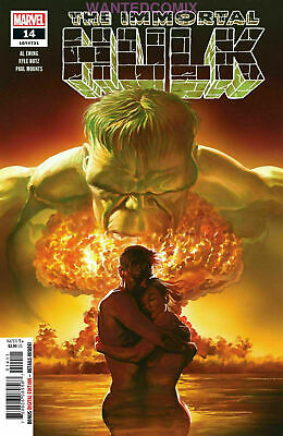 Marvel Comics The Immortal Hulk #14 (Ca) Alex Ross