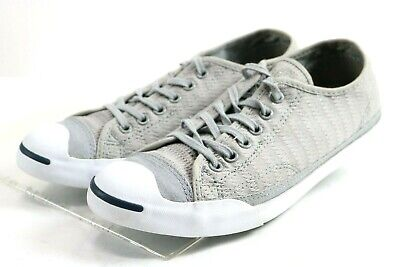 6dcd8e0735cd25 Converse Jack Purcell Canvas Low Top  99 Women s Fashion Sneakers Size 8.5  Grey