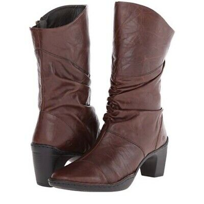 get new huge sale no sale tax JOSEF SEIBEL BLACK Leather CALLA Slouchy Mid-Calf Boots ...