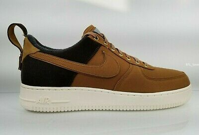 f9b66999c7 Nike Men's Air Force One Low Carhartt PRM WIP Ale Brown AV4113 200 Size 15