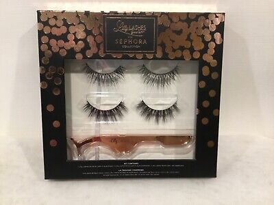 07db4f5cf66 Sephora Collection Lilly lashes 3D Mink with Applicator Rose Gold NEW IN BOX