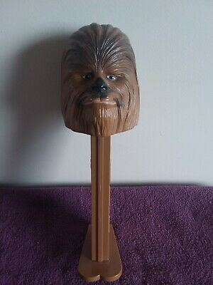 Large Star Wars Chewbacca Pez Packet Dispenser With Sound 32cm As New