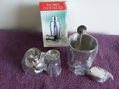 Barcardi Cocktail Kit Promo As New In Box