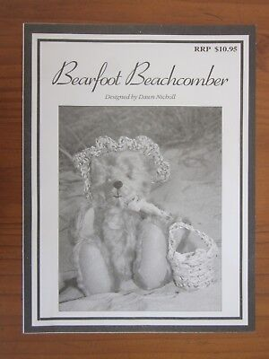 Bearfoot Beachcomber Teddy Bear pattern Dawn Nicoll