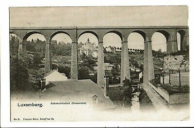 CPA-Carte postale-Luxembourg- Bahnhofviaduct-1903  VM1476